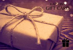 This festive season, say no to redundant gifts. Yes, the gesture matters the most but it's the gift that your loved ones will treasure for life. Gift them some happiness and what better than free shopping from the region's favorite shopping destination. #KapsonsGiftCard #PerfectDiwaligift #Kapsons