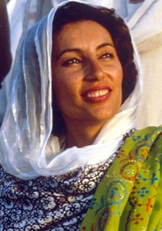 First to lead a Muslim state. As the 11th prime minister of Pakistan, Benazir Bhutto became the first woman to head a Muslim state in 1988. She ended military dictatorship in the country, and was noted for her battle for women's rights. She was assassinated in a suicide attack in 2007.