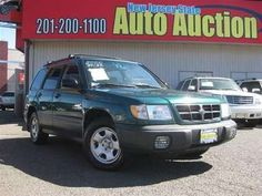 2000 #Subaru #Forester L AWD Wagon -- New Jersey State #Auto #Auction #NJ #NY #PA