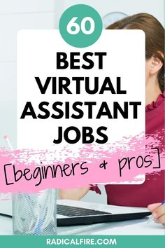 Finding jobs can be a difficult task when you don't have an experience, but it's not impossible. Becoming a virtual assistant is a perfect way to start working from home, whether you have experience in the field or not. With a little bit of dedication and determination, you can start working as a virtual assistant right from the comfort of your own home. I've compiled a list of the best virtual assistant jobs for beginners and pros, check them out! Make Money From Home, Make Money Online, How To Make Money, How To Get Rich, How To Become, Virtual Receptionist, Dividend Investing, Fancy Hands, Creating Wealth