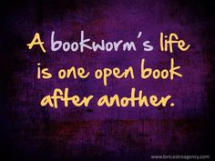 It really is I don't have anything exciting in my life I try to create some excitement by reading novels... I hope it's not bad !