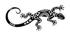 tattooblr: Maori Lizard Tattoo