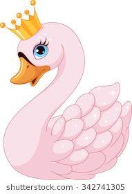 Buy Swan Princess by Platinka on GraphicRiver. Image cute swan princess on a white background, EPS JPG (high resolution)Find Swan Princess stock vectors and royalty free photos in HD. Art Drawings For Kids, Cute Animal Drawings, Drawing For Kids, Easy Drawings, Art For Kids, Die Schwanenprinzessin, Swan Drawing, Inkscape Tutorials, Cute Cartoon