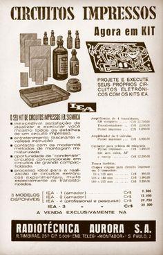 educacao.uol.com.br320 × 500Pesquisa por imagem Anúncio de kit de circuitos impressos na revista Rádio e Televisão da década de 1950. Os próprios estudantes dos cursos de rádio e TV adquiriam esses kits, ...