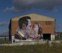 Humongous Art on Abandoned Factory Walls (15 pics) - My Modern Metropolis