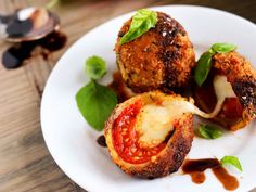 Fried Caprese Bombs | 30 Delicious Things To Cook In June
