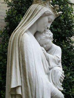Our Lady and Infant Jesus. Divine Mother, Blessed Mother Mary, Blessed Virgin Mary, Pictures Of Mary, Images Of Mary, Virgin Mary Statue, Queen Of Heaven, Mama Mary, Mary And Jesus