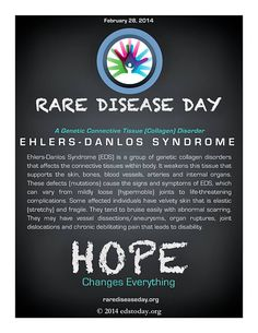 Rare Disease Day: Ehlers-Danlos Syndrome