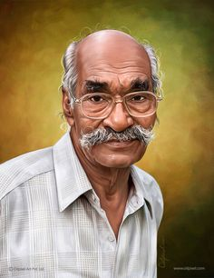 Digital Portrait Painting created by Oilpixel. Contact us to make digital of yourself which definitely lost you in the past of your memory & get smile on your face. Photo To Oil Painting, Painting Studio, Digital Portrait, Portrait Art, Pastel Portraits, Face Sketch, Digital Backgrounds, Portrait Illustration, Beautiful Paintings