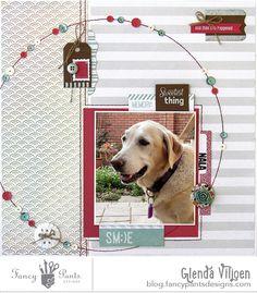 @fancypantsdsgns #pets #scrapbooking #layout