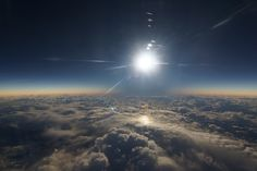 Total Solar Eclipse    I     Taken by Evan Zucker on March 8, 2016 @ Alaska Airlines flight 870 from Anchorage to Honolulu