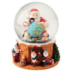 Found it at Wayfair - Santa Musical Snow Globe