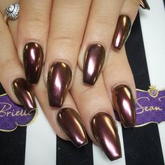 Chrome nails @KortenStEiN                                                                                                                                                                                 More