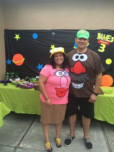 Diy mr mrs potato head costume mommy daddys costume just easy diy mr mrs potato head costume kit ordered a kit from solutioingenieria Images