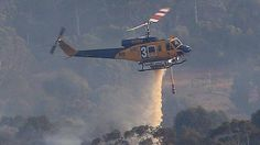 Further helitac and fixed wing support have been key agents in containing bush fires in Western Australia near BULLSBROOK in January 2015.