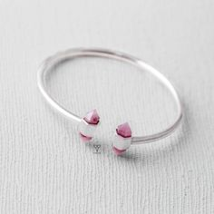 Rose Quartz Bracelet - Vingo Material: silver sterling 925 and Rose Quartz  Warranty: full live Inbox to order http://facebook.com/vingovietnam   #hanoi #silver #vingo #handmade #ring #earing #bracelet #bangle #daisy #fashion #friends #like4like #smile #instamood #family #amazing #nofilter #style #follow4follow #sun #followforfollow #tflers #beach #lol #hair #cool #iphoneonly #girls #webstagram #funny