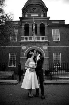 Annapolis Courthouse Wedding - this is where I'll be having mine...I don't want to start my marriage out being broke...