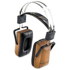 Zebra Wood Headphones. Really want.  Now.