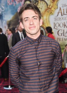 Kevin McHale attends Disney's 'Alice Through the Looking Glass' premiere (May 23, 2016)