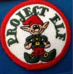 "OCD Girl Scout Leaders Project Elf is a Holiday service Project where a troop adopts a family for the holidays to play ""Elf"" for Christmas. We used this for the Light Green ""Considerate and Caring"" but it could be any service project for any level."