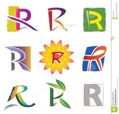 R Alphabet Design ... Letter Logos on Pinterest | Monogram logo, Logo design and Letter logo