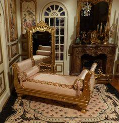 ITA rest style Miniature time XVIII Louis XV 1/12 scale