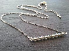 Bar Necklace  Soft Translucent Grey Faceted AB by RoseTeaAndRabbit https://www.etsy.com/uk/listing/229436696/bar-necklace-soft-translucent-grey?ref=shop_home_active_1