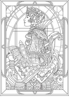 Detailed Coloring Pages For Adults | Princess Coloring Pages brings you two very detailed colouring ...: