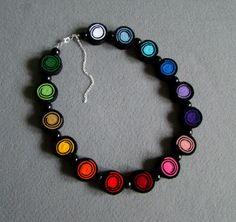 Fieltro+Collar+de+Ifffka+por+DaWanda.com