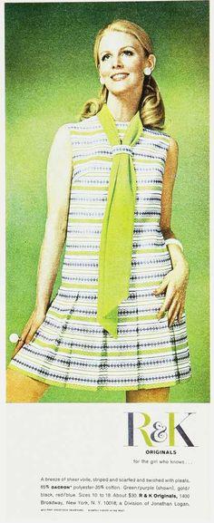 70's fashion ad