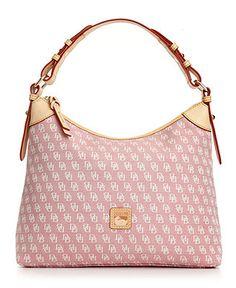 Dooney & Bourke Handbag, Signature Hobo - Handbags & Accessories - Macy's