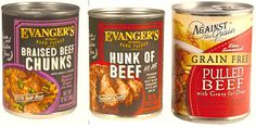 Evanger's Pet Food and Against the Grain Recalls Additional Products  For Immediate Release ~ March 3, 2017  Evanger's Dog & Cat Food is voluntarily expanding its recall of Hunk of Beef and is also recalling Evanger's Braised Beef and Against the Grain's Pulled Beef Products due to potential adulteration with pentobarbital.  Learn more . . . .   http://holisticpetsandpeeps.blogspot.com/2017/03/evangers-pet-food-and-against-grain.html