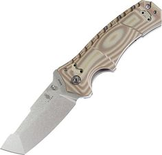Special Offers - Kizer Knives Ki4436 Klecker Folder Tan G10 Stone Washed Tanto - In stock & Free Shipping. You can save more money! Check It (August 11 2016 at 09:30PM) >> http://huntingknivesusa.net/kizer-knives-ki4436-klecker-folder-tan-g10-stone-washed-tanto/