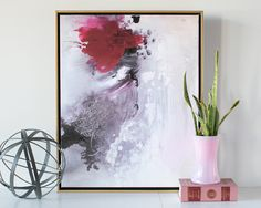 Beauty from Ashes Abstract Canvas