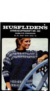 Ravelry: Husfliden Nr. 492