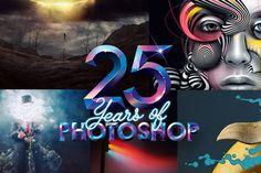 """El popular programa de edición de imágenes """"Photoshop"""" cumple 25 añosLa versión 1.0 del software fue lanzada el 19 de febrero de 1990, llegando a Windows dos años después. Adobe anunció una serie de actividades para el aniversario.  Fuente: Emol.com - http://www.emol.com/noticias/tecnologia/2015/02/19/704376/el-popular-programa-de-edicion-de-imagenes-photoshop-cumple-25-de-anos.html"""