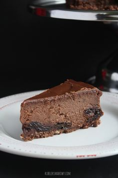 """Sernik """"śliwka w czekoladzie"""""""