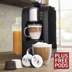 Starbucks® Verismo Single-Cup Coffee and Espresso Maker, Black
