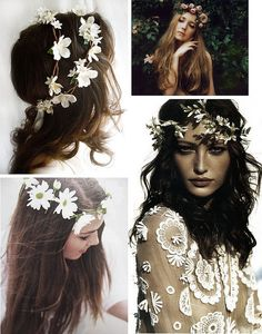 {style inspiration | spring things : a crown of blossoms} by {this is glamorous}, via Flickr