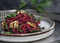 Quinoasalat Vegan Foods, Vegan Vegetarian, Paleo, Tasty, Yummy Food, Food Blogs, Tahini, Superfood, Quinoa