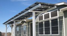 "Lumos Solar | Templeton, CA - SolaraloS ownerJack Hanauer  (the installer) has wanted to build solar patio covers for years, but the cost of bifacial panels was just too high to make it viable... until Lumos came out with LSX frameless panels. ""These panels have helped simplify our canopy installs & the built-in rail wire management system gives a clean look from underneath,"" says Jack.  Also, by utilizing Lumos LSX clear modules, UV-filtered, ambient light can still pass through."