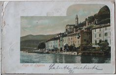 1903 Lago di Lugano Marcote Auto Chrom Louis GlaserLeipzig. 6153 Verlag Gebr. Wehrli, Phot.Kilchberg B. Zurich cartolina postale senza francobollo