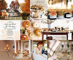I love fall weddings!