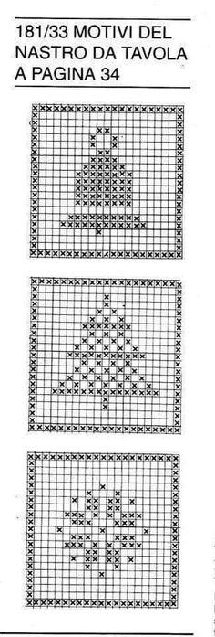 Christmas Crochet Patterns, Holiday Crochet, Christmas Embroidery, Christmas Knitting, Xmas Cross Stitch, Cross Stitch Flowers, Cross Stitch Embroidery, Cross Stitch Patterns, Crochet Diagram