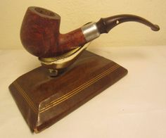 Vintage Dr. Grabow Omega Full Bent Estate Briar Tobacco Smoking Pipe