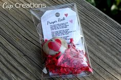 worthyoftheprize.com: {Hope for the Home}: Prayer Rock Valentine