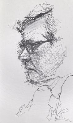 Sketching in Public #Art #Drawing #Sketchbooks #Artist #Moleskine #CoffeeShop