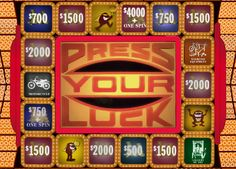 """Press Your Luck game show - """"No whammies! No whammies! Press Your Luck, Ibuki Mioda, Old School Toys, Tv Show Games, Saturday Morning Cartoons, Old Games, Vintage Tv, Classic Tv, Favorite Tv Shows"""