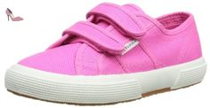 Superga 2750Jvelcro Classic, Baskets mode fille - Rose, 32 EU - Chaussures superga (*Partner-Link)