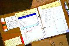 'I See' journal for kids travel